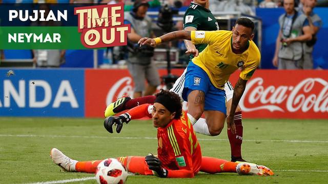 Berita video Time Out soal pemain yang dapat pujian dari bintang Brasil, Neymar, di Piala Dunia 2018.