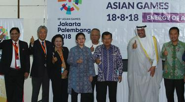 Presiden OCA Apresiasi Pembangunan Venue Asian Games 2018