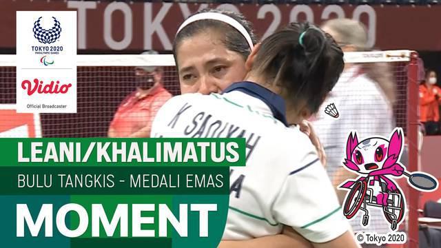 Berita Video, Leani Ratri Oktila/Khalimatus Sadiyah Raih Medali Emas usai Kalahkan Wakil China di Final Ganda Putri Paralimpiade Tokyo 2020a Putri Paralimpiade Tokyo 2020