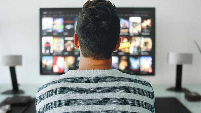 Ilustrasi Netflix, Menonton TV, Menonton Video. Kredit: Mohamed Hassan from Pixabay
