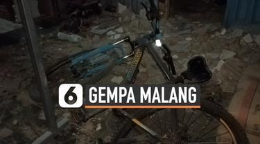 Gempa Malang berkekuatan magnitudo 6,1 menewaskan sejumlah warga dan merusak banyak rumah. Dampak paling parah terjadi di salah satu dusun di Kabupaten Malang.