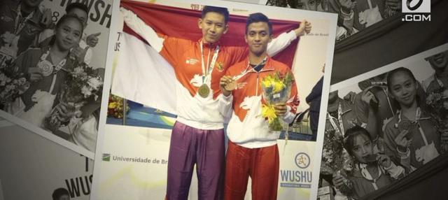 Tim Wushu Indonesia meraih total 10 medali di kejuaraan dunia wushu junior di Brasilia, Brasil. Atlet Jevon Lionel Koeswo mempersembahkan sebuah medali emas untuk Indonesia.
