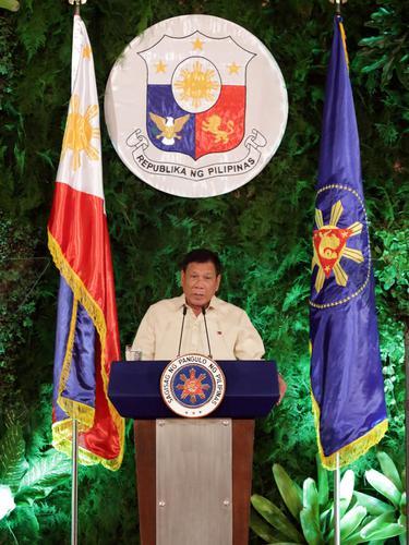 20160630- Presiden Filipina Rodrigo Duterte-Reuters