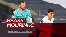 Berita Video Senangnya Jose Mourinho Di Balik Perseteruan Hugo Lloris dan Son Heung-min