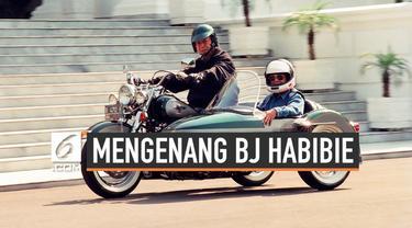 BJ Habibie ternyata memiliki kegemaran naik motor gede. Ia bahkan sempat mengendarai motor gede bersama presiden Soeharto di istana negara.