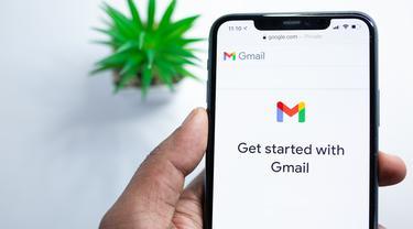 Ilustrasi cara,mengetahui kata sandi, Gmail, Android