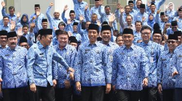 Jokowi Buka Rakernas Korpri