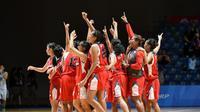 Timnas Basket Putri raih medali perak di SEA Games 2015