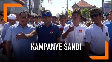 Bersafari politik ke Benoa Bali cawapres Prabowo Sandiaga Uno berjanji menghentikan proyek reklamasi di Tanjung Benoa Bali. Prabowo-Sandi Janji akan meninjau ulang proyek tersebut