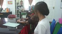 Pengakuan korban penganiayaan mahasiswa senior Sendratasik UNG. (Liputan6.com/Andri Arnold)