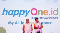 Peluncuran happyone.id secara resmi dilakukan oleh CEO Asuransi Astra, Rudy Chen bersama Direktur Astra International Suparno Djasmin.