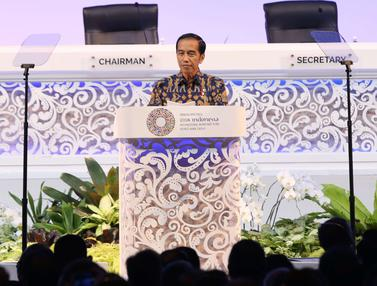 Jokowi Buka Rapat Pleno Pertemuan Tahunan IMF World Bank Group 2018