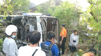 Kecelakaan Bus di Bali