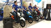 Peluncuran new Yamaha X-Ride 125. (Septian/Liputan6.com)