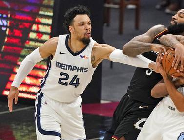FOTO: Memphis Grizzlies Bungkam Cleveland Cavaliers