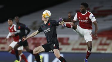 Arsenal Ditahan Imbang Slavia Praha di Emirates