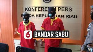 VIDEO: Polisi Tangkap Bandar 8 kg Sabu