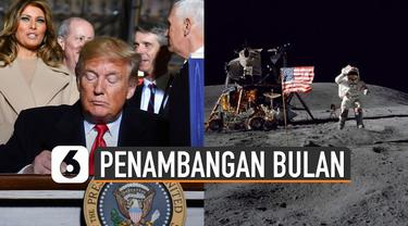 Pihak Rusia menuding Trump sengaja membuat basis di luar angkasa untuk mengambil alih planet lain.