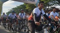 Gowes Nusantara 2019 digelar di Lhokseumawe yang jadi kota keenam penyelenggaraan (dok: Kemenpora)