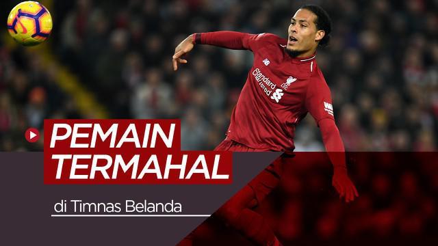 Berita video 10 pemain termahal Belanda, salah satunya bintang Liverpool, Virgil van Dijk.