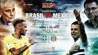 Prediksi Brasil vs Meksiko (Liputan6.com/Trie yas)