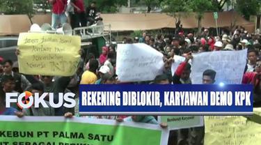 Sebelumnya, KPK menetapkan PT Palma Satu sebagai tersangka kasus alih fungsi hutan di Riau.