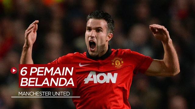 Berita Motion Grafis 6 Catatan Pemain Belanda di Manchester United