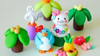 Clay Art Unyu untuk Dibikin Bareng Keponakanmu di Lebaran Nanti
