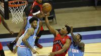 Duel antara Houston Rockets vs Toronto Raptors pada laga lanjutan NBA 2020/2021, Selasa (23/03/2021) pagi WIB.