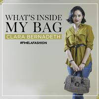 What's in My Bag Clara Bernadeth