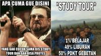 Meme Study Tour (Sumber: memegenerator.net/me.me)