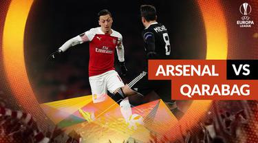 Berita video statistik Arsenal vs Qarabag pada matchday ke-6 Liga Europa 2018-2019.