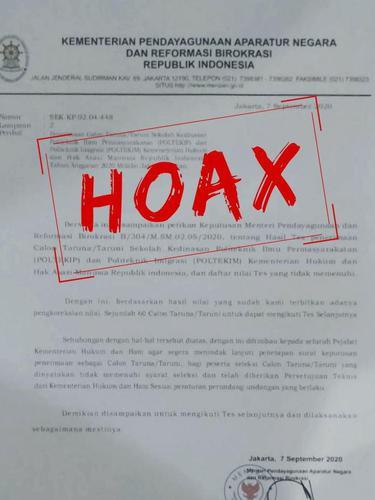 Surat Hoaks