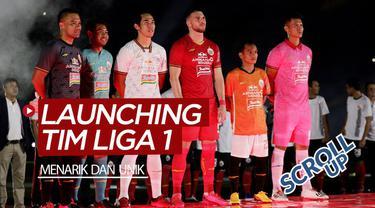 Berita video Scroll Up kali ini membahas launching 3 tim sekaligus jersey yang akan dipakai di Liga 1 2020. Perhelatan tersebut di sepanjang Februari 2020 dan berlangsung menarik sekaligus unik.