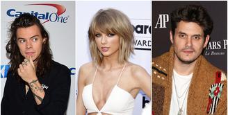 Taylor Swift memang memiliki kecantikan dan bakat bermusik yang tak diragukan lagi.Tak heran banyak pria yang mendekatinya, berikut deretan selebriti tampan yang pernah menjalin asmara dengan pelantun 'Bad Blood' ini.