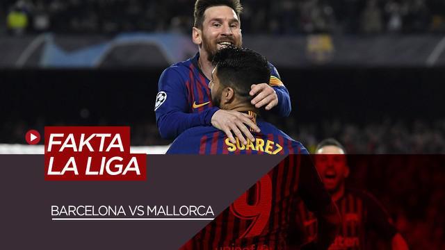 Berita Video Data dan Fakta La Liga Jelang Barcelona Vs Mallorca