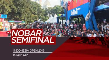 Berita Video Nobar Kemenangan Kevin/Markus dan Ahsan/Hendra di Indonesia Open 2019
