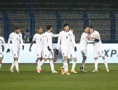 Bungkam Bosnia-Herzegovina, Italia Lolos Semifinal UEFA Nations League