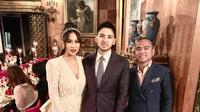 Kezia Toemion dan Aditya Trihatmanto menggelar prosesi pernikahan yang kedua di Los Angeles (Dok.Instagram/@frankhutapea/https://www.instagram.com/p/Bv-ygl4Bif6/Komarudin)