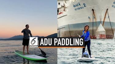 Menteri Kelautan dan Perikanan Susi Pudjiastuti menantang pendiri Facebook Mark Zuckerberg untuk adu paddling. Jika menang, Susi ingin membeli kapal patroli dan kapal nelayan.