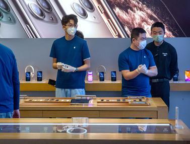 2 Minggu Tutup Karena Corona, Apple Store di China Kembali Dibuka