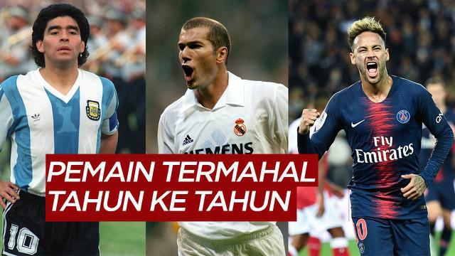 Berita Motion Grafis Dari Maradona, Zidane Hingga Neymar Jr, Inilah Deretan Pemain Termahal Dunia Waktu ke Waktu
