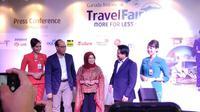 Garuda Indonesia Travel Fair (GATF) hadir lagi. Gelaran travel fair phase 1 ini akan diselenggarakan pada 6-8 April 2018 di Jakarta Convention Centre (JCC). (Liputan6.com/ Ahmad Ibo)