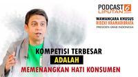 Podcast Wawancara Presiden Grab