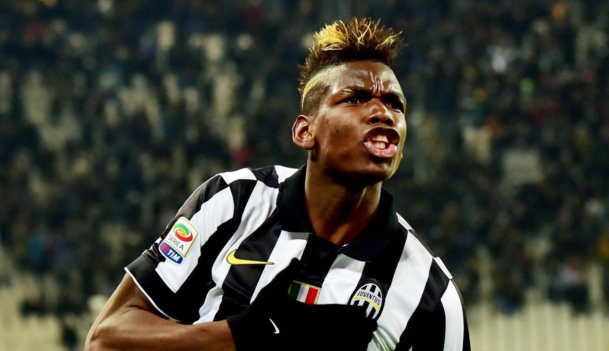 Juventus adalah klub spesial bagi Paul Pogba. La Vecchia Signora sukses menyelamatkan karier sang gelandang setelah terbuang dari Old Trafford. (AFP/Giuseppe Cacace)