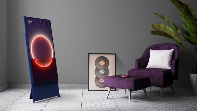 Televisi lifestyle The Sero Samsung (Foto: Samsung Electronics)