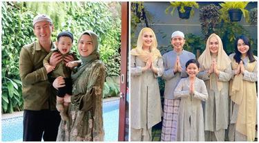Potret 8 Keluarga Selebriti Rayakan Iduladha 2021, Kompak Banget