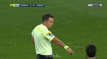 Bek AS Monaco, Kamil Glik, mencetak gol indah saat menghadapi Dijon di Ligue 1 Prancis. This video is presented by Ballball.