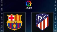 La Liga - Barcelona Vs Atletico Madrid (Bola.com/Adreanus Titus)