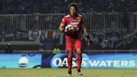 3. I Made Wirawan (Persib Bandung) -  Made Wirawan merupakan kiper berusia 38 tahun. Musim lalu, pemain asal Bali ini bermain sebanyak 31 kali bersama Persib dengan catatan 29 kebobolan dan 12 kali meraih clean-sheets. (Bola.com/Yoppy Renato)